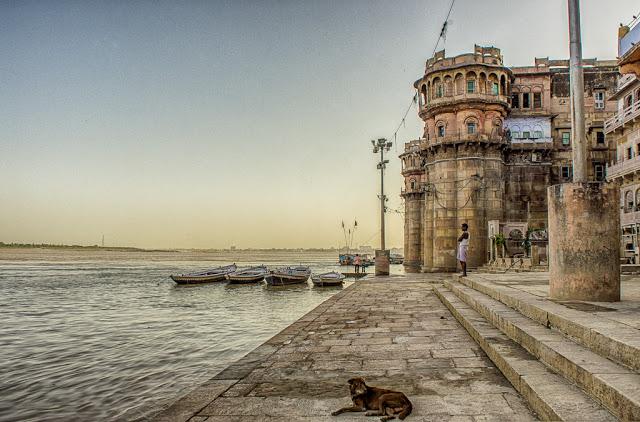 India and Varanasi!